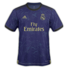 Real Madrid 2020 maillot exterieur 19-20