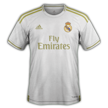 Real Madrid 2020 maillot foot domicile 19-20