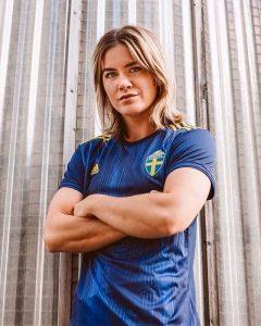 Suede 2019 maillot exterieur femme coupe du monde 2019