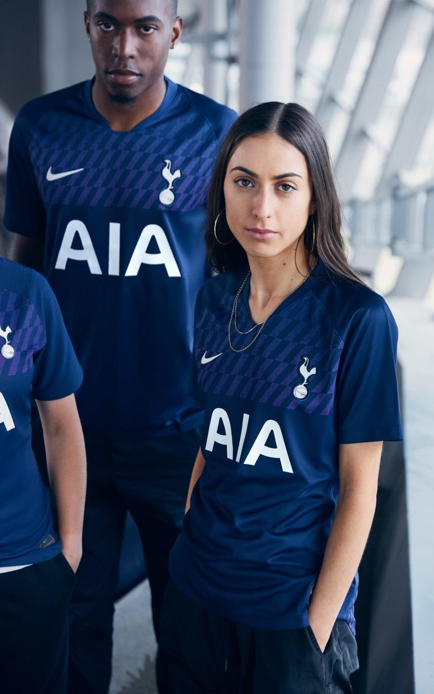 Tottenham 19 20 maillot exterieur foot