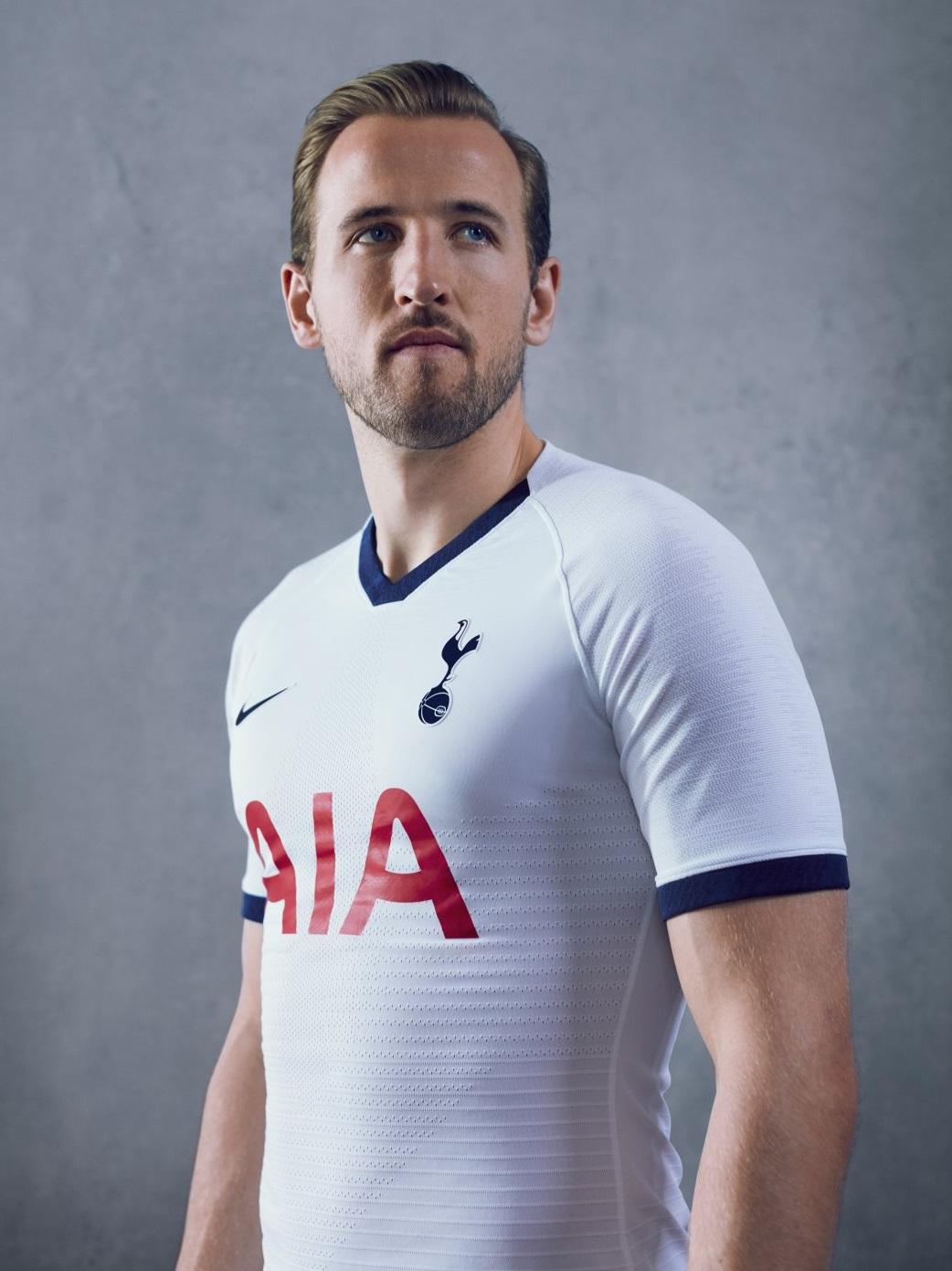 Tottenham 2019 2020 nouveau maillot domicile Kane