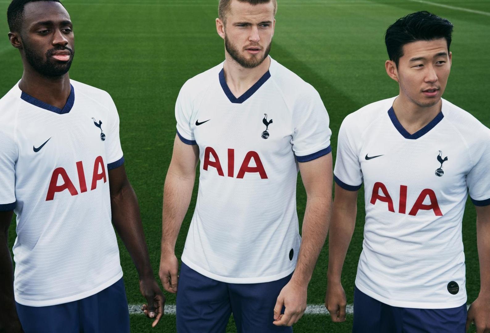 Tottenham 2020 nouveau maillot domicile officiel