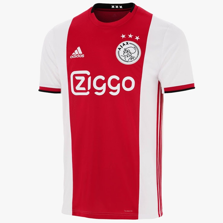 ajax 19 20 maillot de football domicile
