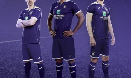Les nouveaux maillots de football Anderlecht 2020 passent chez Joma