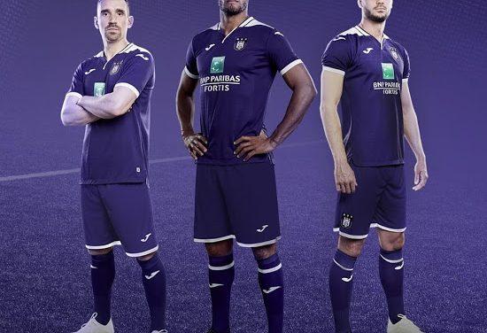 Anderlecht dévoile ses maillots 2018 2019 conçus par adidas
