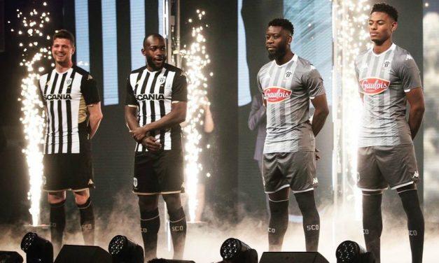 SCO Angers 2020 les nouveaux maillots de foot officiels