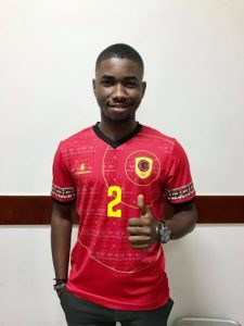 Angola CAN 2019 maillot domicile football