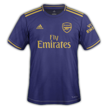 Arsenal 2020 troisieme maillot third 19 20
