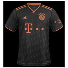 Bayern Munich 2020 nouveau troisieme maillot third 19 20