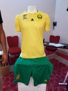 Cameroun 2019 maillot domicile CAN 2019