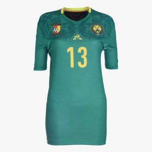 Cameroun 2019 nouveau maillot CAN 2019