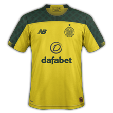 Celtic 2020 maillot exterieur foot