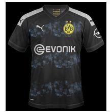 Dortmund 2020 maillot exterieur noir foot