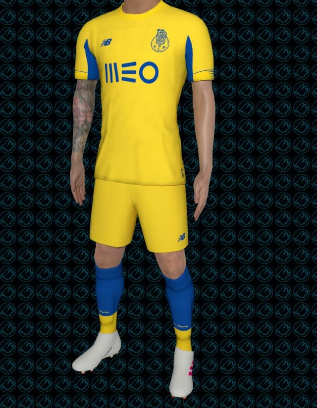 FC Porto 2020 maillot foot exterieur 19 20