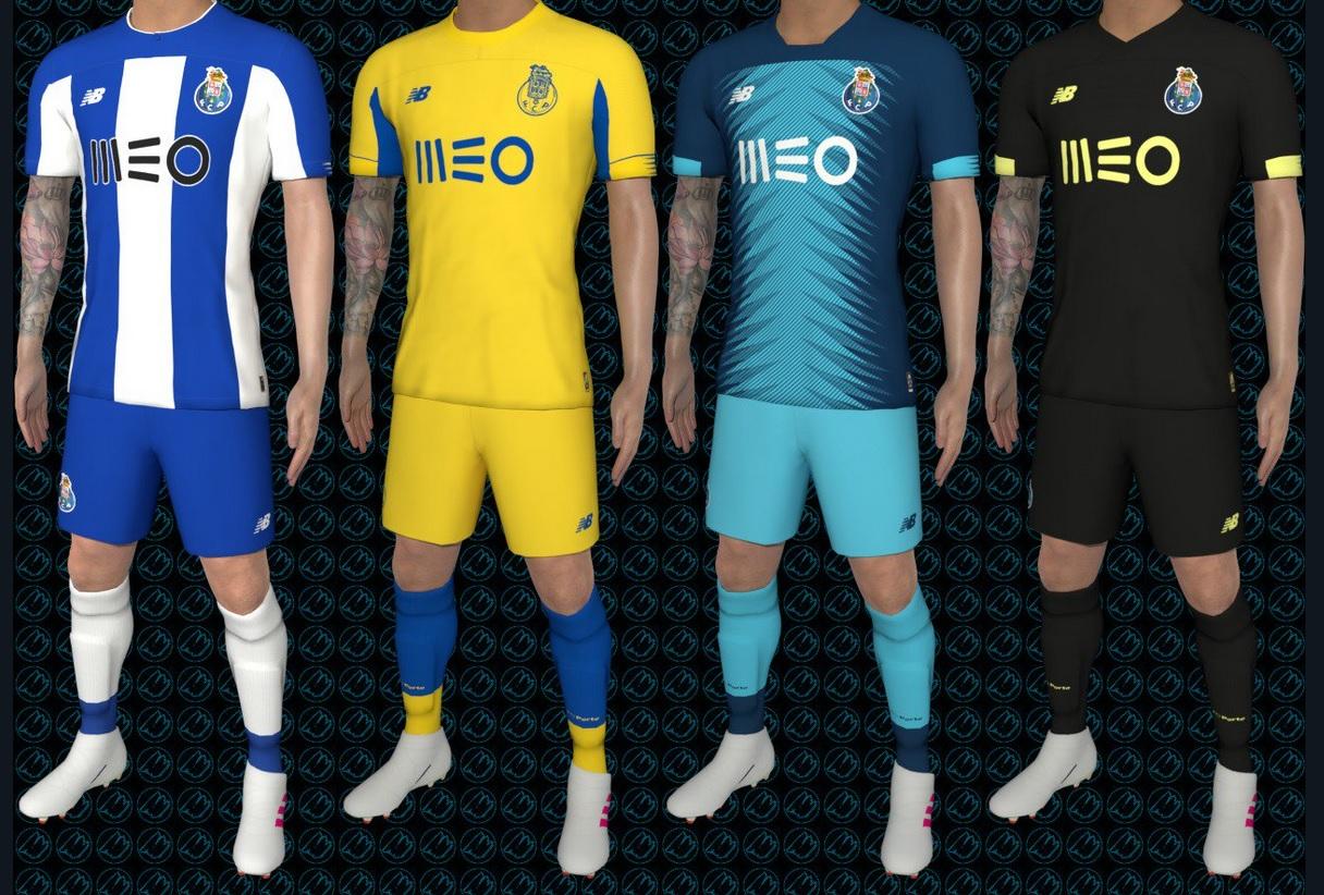 FC Porto 2020 nouveaux maillots de foot