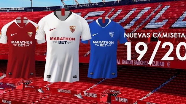 Les nouveaux maillots de Séville 2020 officiels chez Nike