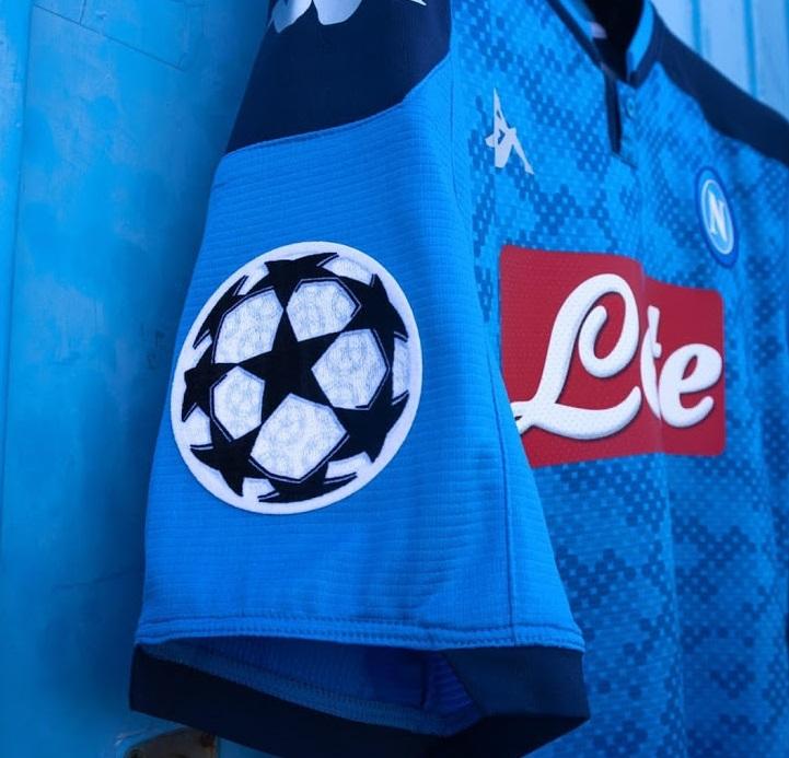 Naples 2019 2020 nouveau 4eme maillot ligue des champions