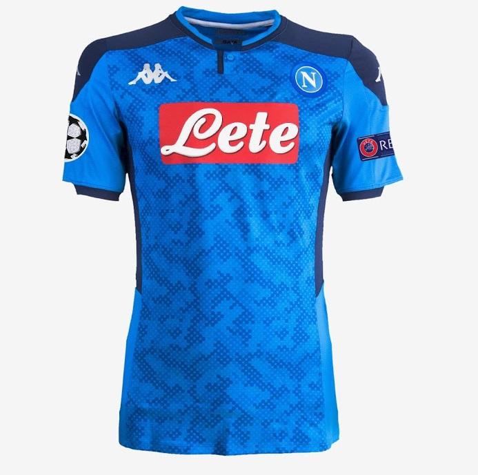 Naples 2020 4eme maillot ligue des champions