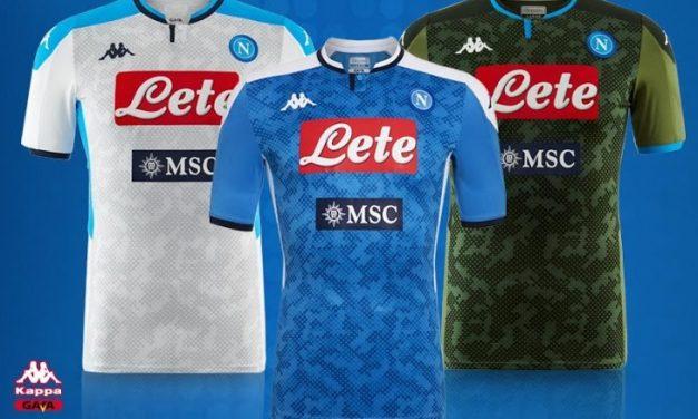 Naples 2020 les nouveaux maillots de football 19-20 par Kappa