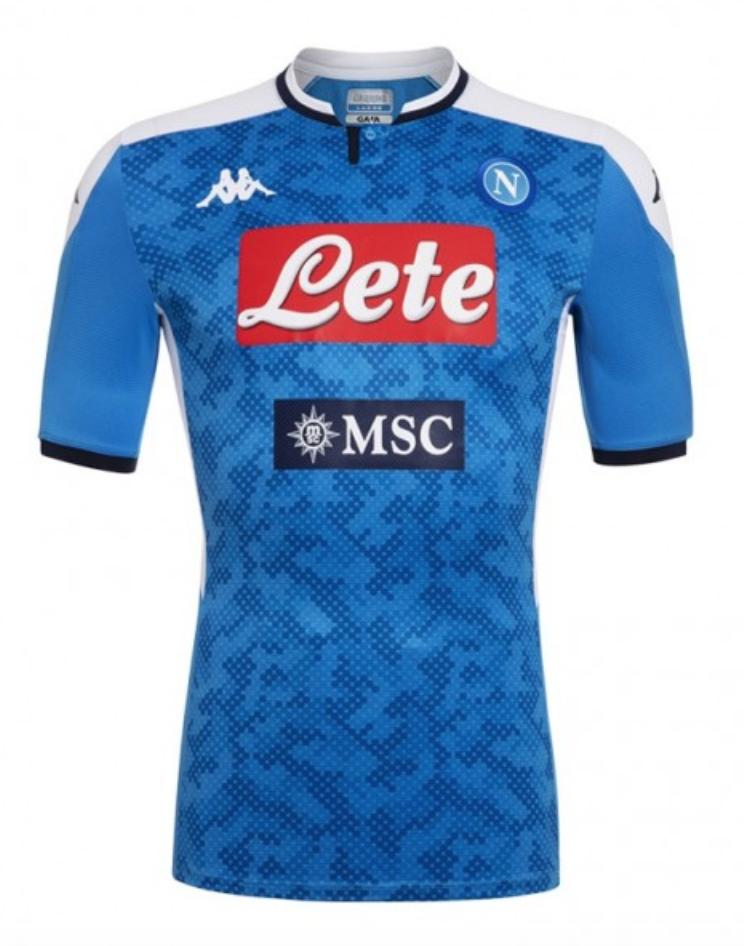 Naples 2020 maillot domicile napoli 2019 2020