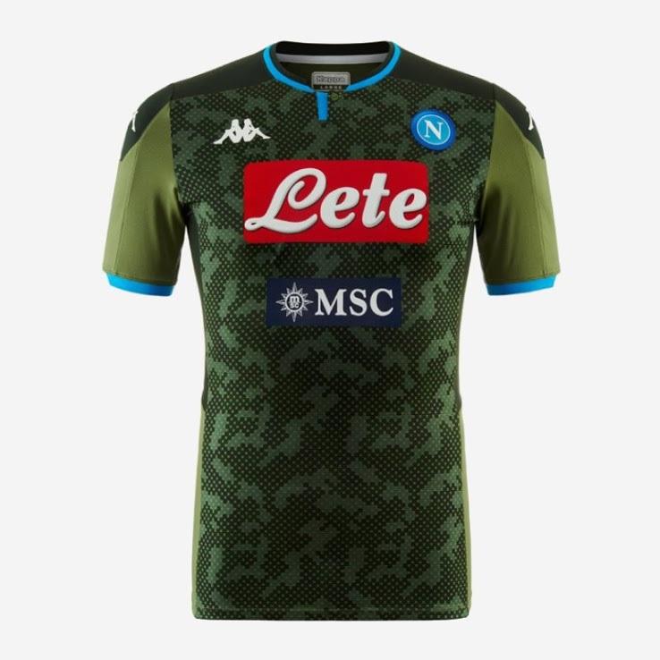 Naples 2020 maillot exterieur Napoli 19 20