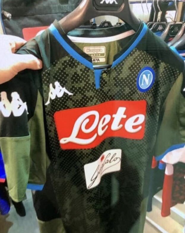 Naples 2020 maillot third foot Kappa