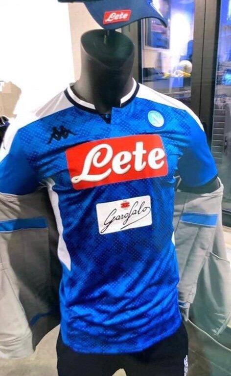 Naples 2020 nouveau maillot domicile foot