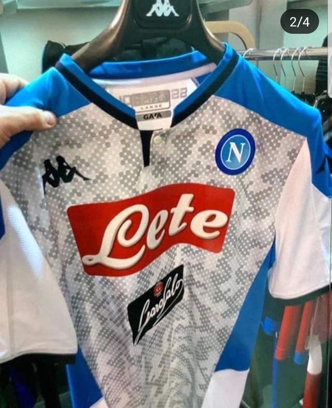 Naples 2020 nouveau maillot third football
