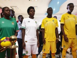Nouveaux maillots foot Zimbabwe 2019 CAN