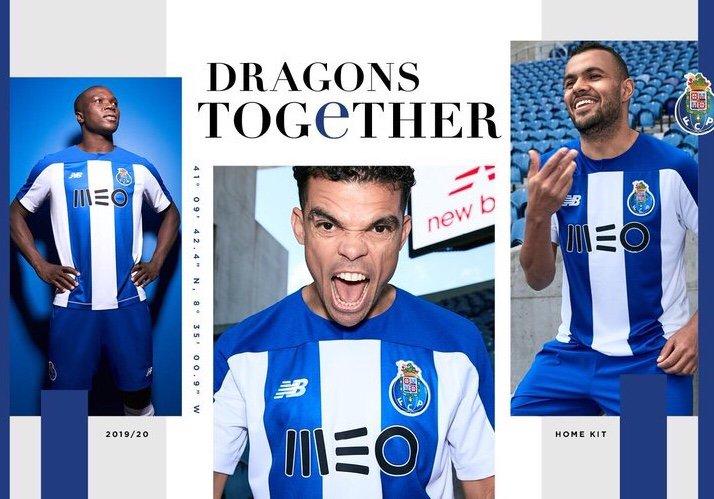 Porto 2020 nouveau maillot New Balance
