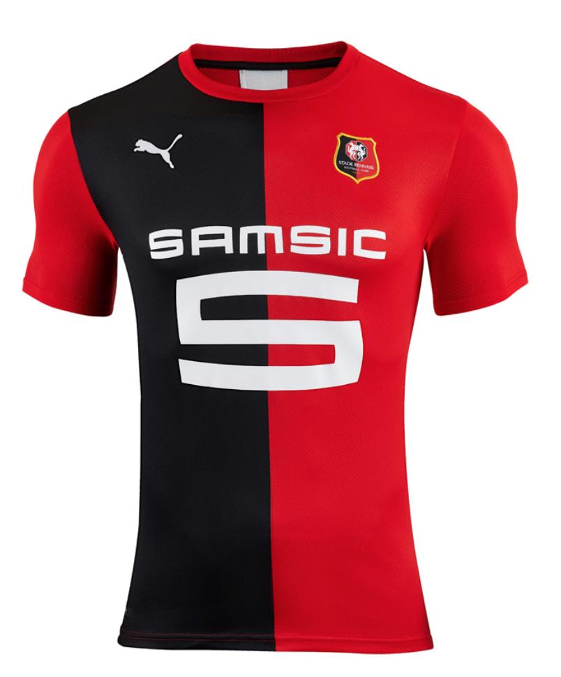 Rennes 2020 nouveau maillot domicile