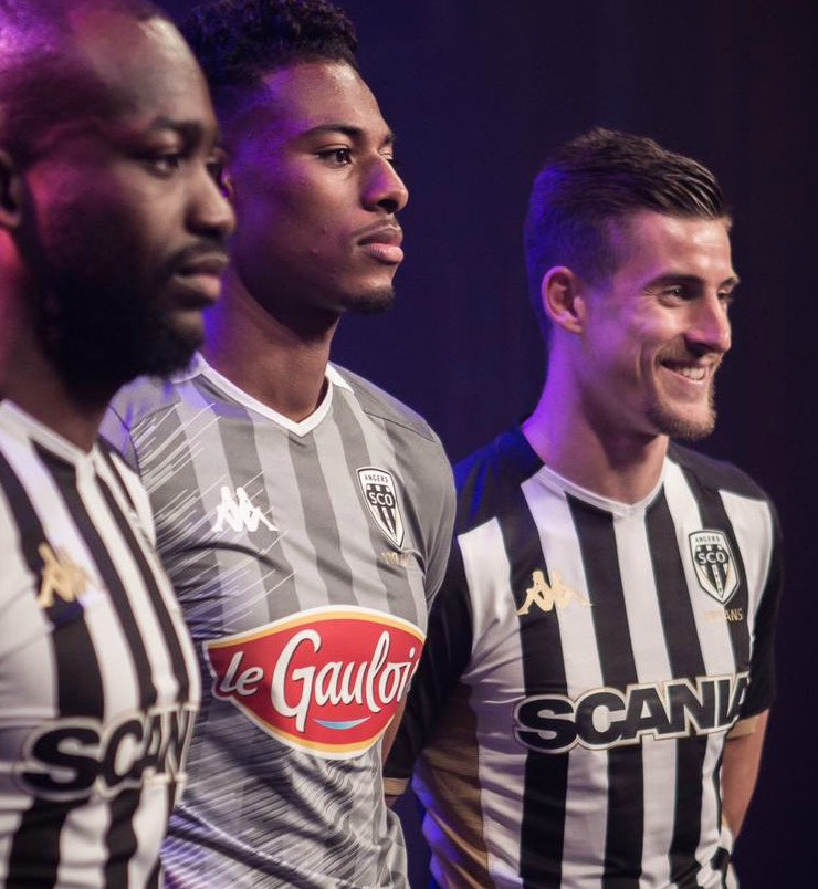 SCO Angers 2020 maillots de football