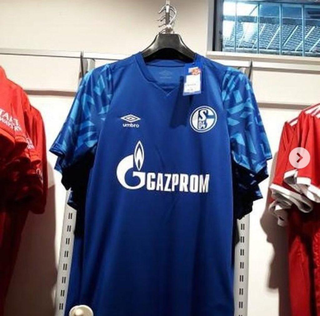 Schalke 2019 2020 nouveau maillot domicile