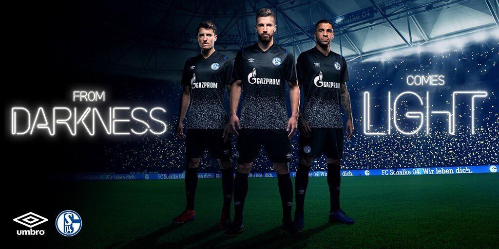 Schalke 2020 maillot third 19 20