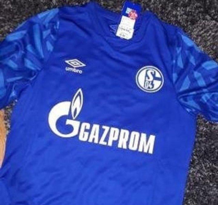 Schalke 2020 nouveau maillot de football Umbro 19 20