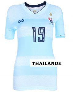 Thailande 2019 maillot de foot domicile coupe dumonde feminine