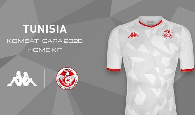 Tunisie CAN 2019 les trois nouveaux maillots par Kappa