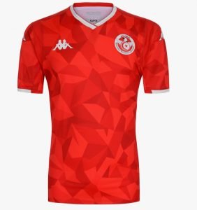 Tunisie CAN 2019 maillot exterieur foot