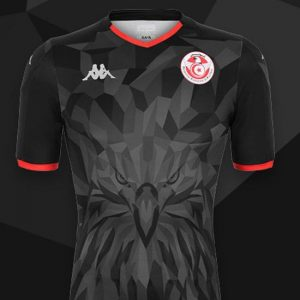 Tunisie CAN 2019 nouveau maillot third Kappa
