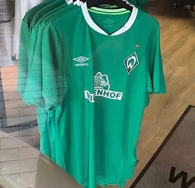 Fuite des nouveaux maillots de foot Werder Breme 2019 2020