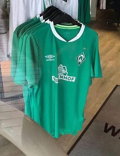 Werder Breme 2020 maillot de foot domicile