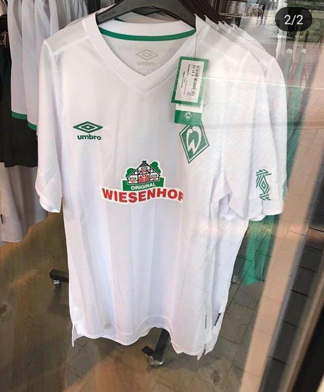 Werder Breme 2020 maillot de foot exterieur 19 20 umbro