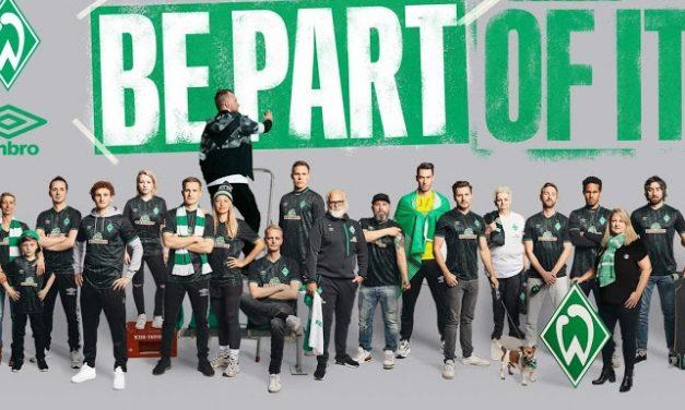 Officialisation des nouveaux maillots de foot Werder Breme 2019 2020