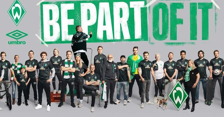Werder Breme troisieme maillot third 2020