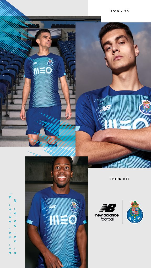 maillot FC Porto 2020 domicile foot