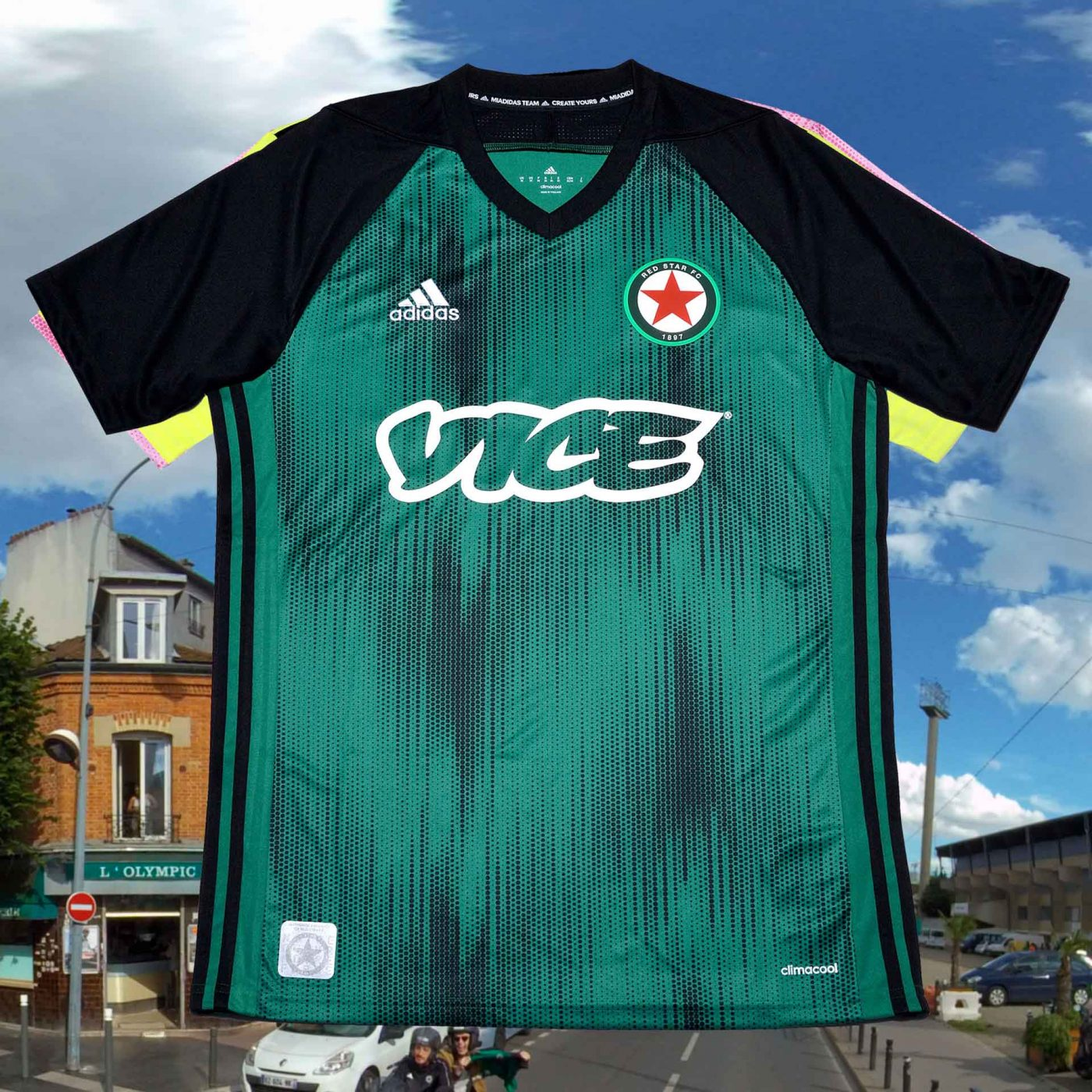 maillot domicile red star 2019 2020 adidas google street view