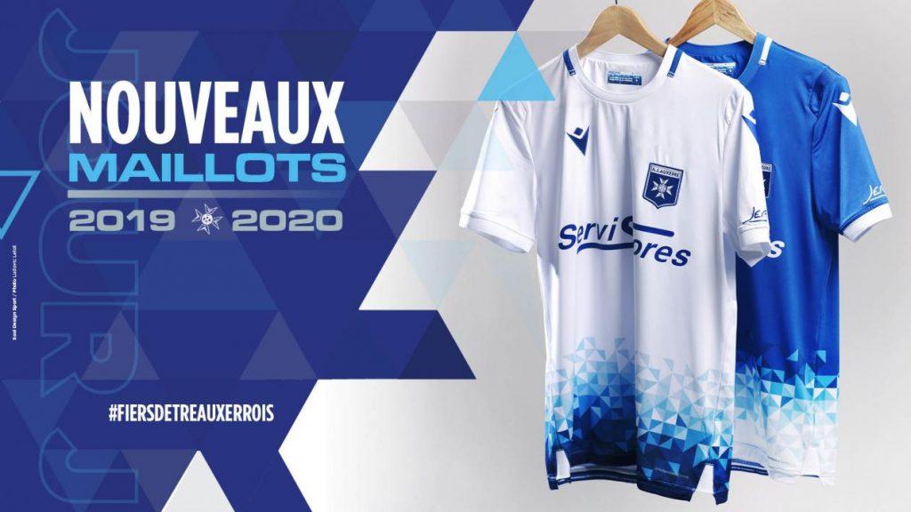 AJ Auxerre 2020 maillots de foot