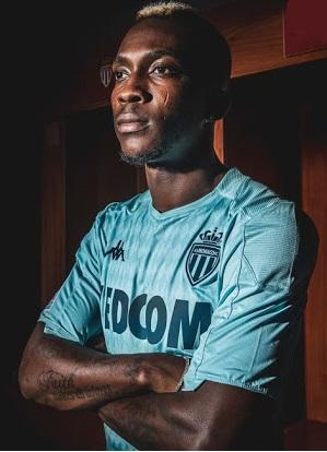 AS Monaco 2019 2020 troisieme maillot de football