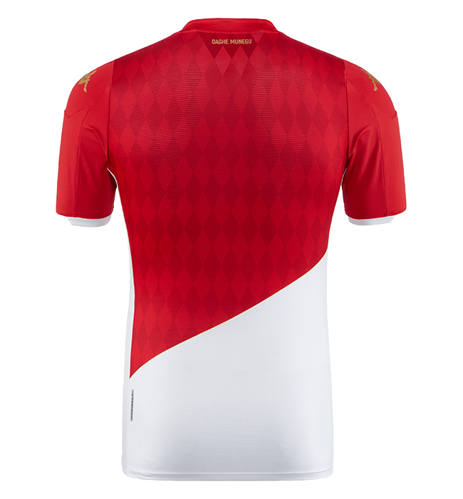 AS Monaco 2020 dos maillot domicile foot Kappa