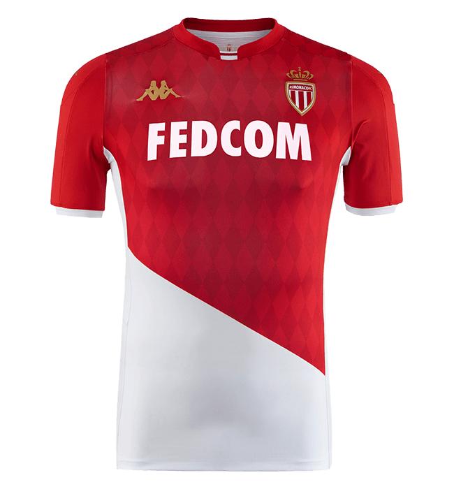 AS Monaco 2020 nouveau maillot domicile foot Kappa